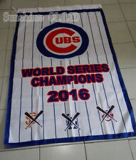 NEW Chicago Cubs World Series 2016 Champions Flag