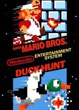Super Mario Bros / Duck Hunt For NES Console Very Good Nintendo 6Z