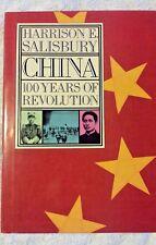 CHINA 100 YEARS OF REVOLUTION  Harrison Salisbury 1983 hcdj 1st  Chinese History