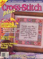 Counted Cross Stitch Patterns Cross Stitch Plus Magazine 14 Projects March 1993