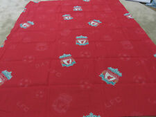 Football Liverpool red white craft remnant fabric piece 145x110cm