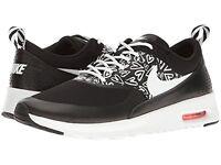 Nike Air Max Thea Print Black/White-Lava Glow (GS) (834320 002)