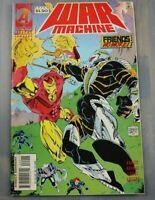 Marvel Universe War Machine #22 January 1996 - Friends no More!