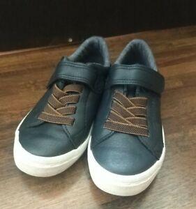 Boys H&M Blue Shoes Size EUR 27 Size 9.5 GC