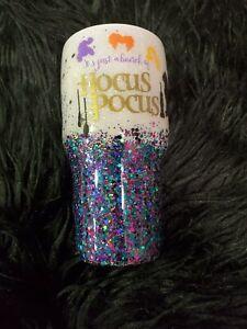 Hocus Pocus Glitter Tumbler!! 30 Oz!