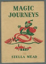 Round The World Stories 5: Magic Journeys Stella Mead 1953 Storybook G-Condition