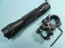 CREE XM-L T6 1-mode Flashlight Hunting Torch + Scope Mount 501B_02