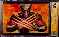 MARVEL Comics RETURN OF WOLVERINE #1 CGC SS 9.8 Mayhew Virgin LOGAN X-MEN X-23