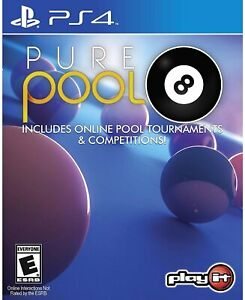 PURE POOL PS4! TOURNAMENT, 8,9 BALL, BLACKBALL, FAMILY GAME PARTY NIGHT!