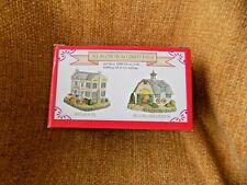 Liberty Falls Collectiion Sinclair Hotel and Sinclair Carriage House Figurine