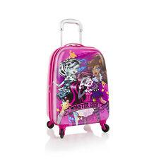 "Heys Mattel Monster High Tween Spinner Luggage 21"" Case Expandable Carry On Appr"