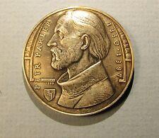 MEDAL PETER PARLER Architect of Emperor Charles IV Bohemia Prague Czechoslovakia