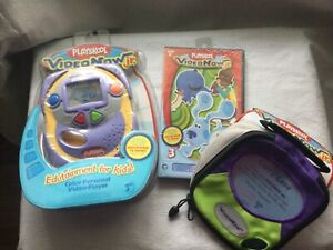 Playskool VideoNow Jr Color Personal Video Player Hasbro ,Video, Case Bundle New