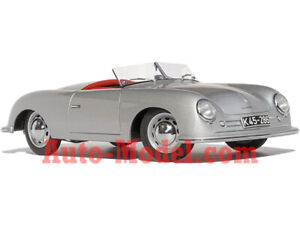 1:18 AUTOart 1948 Porsche 356 No.1 Silver Porsche Museum Edition