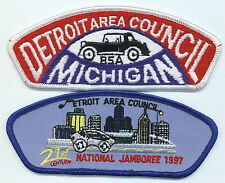 LOT OF 2 CSP/JSP - DETROIT AREA COUNCIL - S-3 & 1997 NJ - MERGED IN 2008
