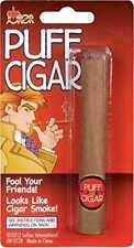 FAKE PUFF SMOKING CIGAR BLOWS SMOKE FANCY DRESS GANGSTER STAGE PROP PRESENT