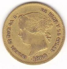 PHILIPPINES 1862 Gold 2 Pesos