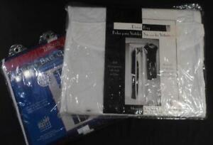 2 HANGING DRESS CLOSET ORGANIZERS, PRE OWNED NEW OLD STOCK, GARMENT BAG