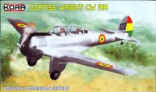 KORA Models 1/72 CURTISS WRIGHT CW-19A Bolivian & Dominican Air Forces
