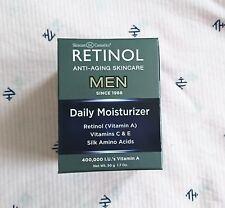 Skincare Cosmetics RETINOL MEN Men's Daily Moisturizer 1.7oz/50g New in Box