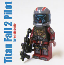 LEGO Custom - Titanfall 2 Jack Cooper Pilot - Minifigure army video game K'NEX