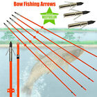 32inch Archery Bow Fishing Arrows Hunting Bowfishing Compound bow Recurve bow 3X