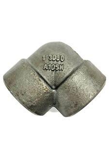 """Chero 3000 Forged Steel Pipe Fittings 1"""" BSPT. 90° Elbow. A105N Steel."""
