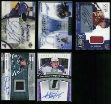 2005-06 UD Upper Deck Ice Signature Swatches Doug Weight Auto Autograph Jersey
