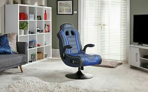 Refurbished X-Rocker Adrenaline VII Gaming Chair-Blue-PS4,PS5 & Xbox One -GB65.