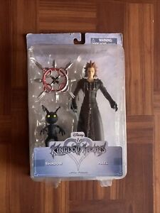 KINGDOM HEARTS AXEL AND SHADOW ACTION FIGURES BY DISNEY AND DIAMOND SELECT TOYS