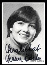 Herma Koehn Autogrammkarte Original Signiert # BC 46019