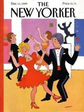 New Yorker COVER 12/11/1989  Dance Party  WESTMAN