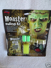Monster Makeup Kit Soft & Flexible Horror Teeth/Paint More Halloween