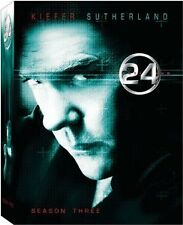 Brand New DVD 24: Season Three (2001) Kiefer Sutherland Kim Raver Mary Lynn Rajs