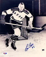 LEO REESE N Y RANGERS AUTOGRAPH AUTO SIGNED 8X10 PHOTO PSA DNA WITH FREE SHIP
