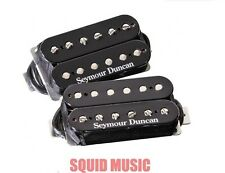Seymour Duncan SH-4 JB & SH-2 Jazz Neck Hot Rodded Humbucker Black Pickup Set