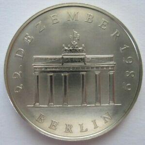Münze 20 Mark DDR 1990 Öffnung des Brandenburger Tores, 22. Dezember 1989 Stgl.