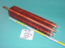 Lamellentauscher aus Kupfer Nr. 75   Destille Kühlspirale Teichheizer Solar