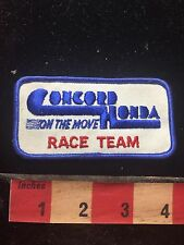 Vtg Concord Honda On The Move Race Team Patch (1980s / 1990s Era) S75G