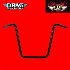 Drag Specialties 16 Inch Black Touring Handlebars HD Touring Ape Hanger