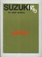 Suzuki 80 K10 K11 (1962-1966) Factory Shop Manual Book K 10 11 (pre-P) CG84