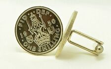 Scottish King George VI 1-Shilling Vintage Coin Cufflinks