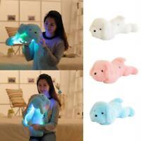 Leuchtende Hund Plüsch Puppe bunte LED leuchtende Hunde für Mädchen