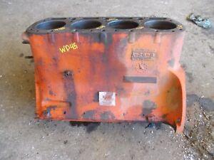 Allis Chalmers WD45 WD 45 tractor ORIGINAL engine motor block w/ sleeves