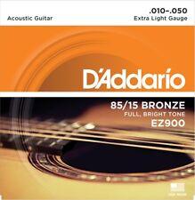 Cuerdas Guitarra Acústica EZ900 (10-50) DADDARIO. ULT. UNID. LIQUIDACIÓN STOCK