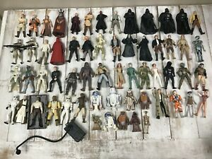 Star Wars Action Figure Lot 60+ Pieces Weapons Accessories LFL Kenner