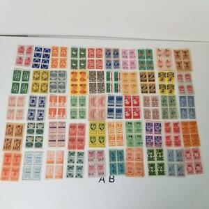 200 Vintage savings trading stamps sample pack 50 different blocks of 4 AB