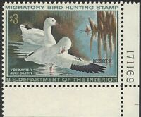 FEDERAL DUCK STAMP RW37 1970 ROSS'S GEESE VF/NH MINT NEVER HINGE CV $65