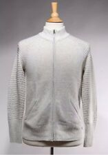 Royal Robbins Gray Knit Wool Blend Zip Front Highlands Jacket Sweater, Size M
