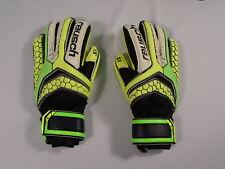 Reusch Soccer Goalie Gloves Pulse Prime S1 Finger Support JR SZ 5 #3672200INV